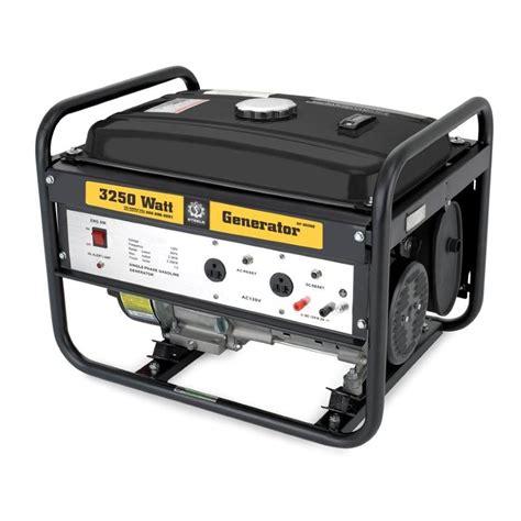 3250w portable generator non ca lawn garden