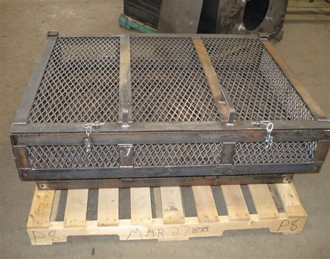 metal cage expanded metal cage cwb certified brazzo edmonton alberta