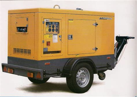 Genset Mitsubishi 60 Kva Recondisi Mulus 60 kva prime rate silent type with trailer genset powerlink atlantagenset