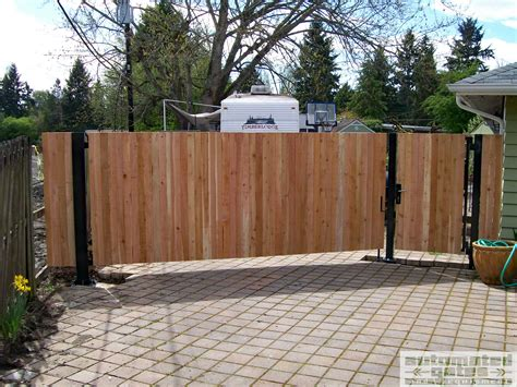 electric swing gates wood swing gate driveway automated custom wood