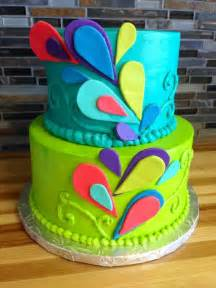 colorful cake peacock birthday cake colorful cake birthday cakes