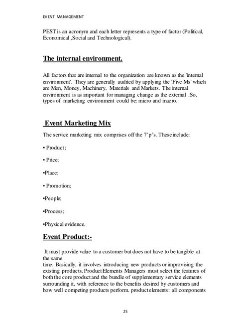 appointment letter format for event management company event management