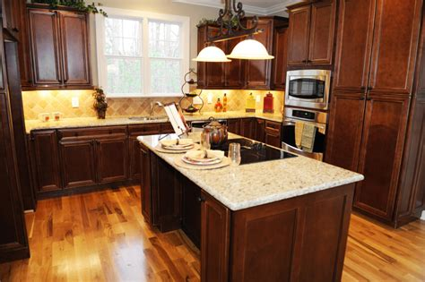 coordinating cabinets countertops and flooring 52 enticing kitchens with light and honey wood floors