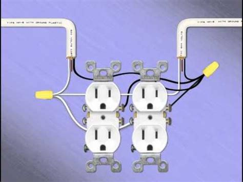 14 two receptacles electrical outlet