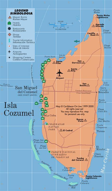 el cozumeleno resort map cariben