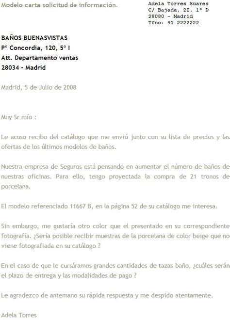 formato solicitud a una autoridad administrativa gratis modelos de cartas de solicitud