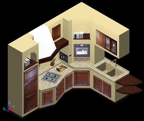 cucina in muratura progetto stunning progetto cucina in muratura 3d ideas home