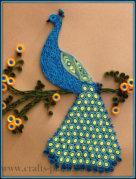 How To Make Paper Quilling Peacock - quilled peacock peacock