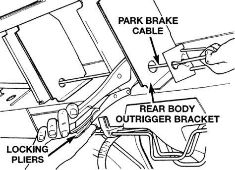 repair anti lock braking 2011 dodge nitro parking system repair guides parking brake cables autozone com