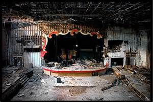 Adult flavored pudding abandoned theaters