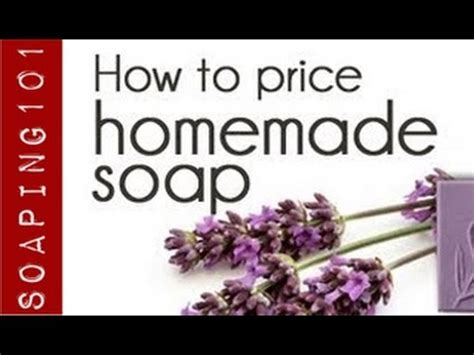 How To Price Handmade Soap - how to price your soap the marketing mix