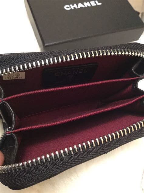 Jual Dompet Hermes Name Card Black Mirror Quality discount chanel 69271 black lambskin leather quilted zipper wallet card bag sirio