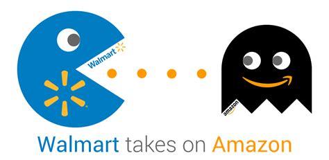 amazon vs walmart walmart battles for marketplace dominance with free two