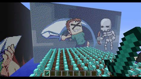 minecraft song i can swing my sword i can swing my sword tobuscus in minecraft note blocks