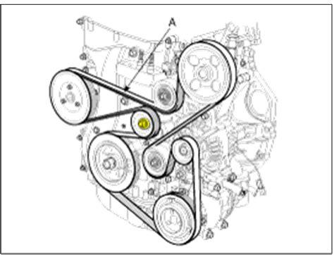 2012 Kia Optima Serpentine Belt Diagram