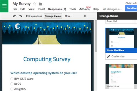 Web Based Survey - create a web based survey the easy way with google forms