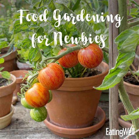 food gardening for beginners eatingwell