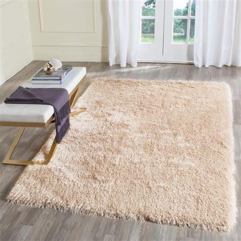 memory foam area rugs safavieh memory foam plush shag taupe 3 ft x 5 ft area rug sgp256c 3 the home depot