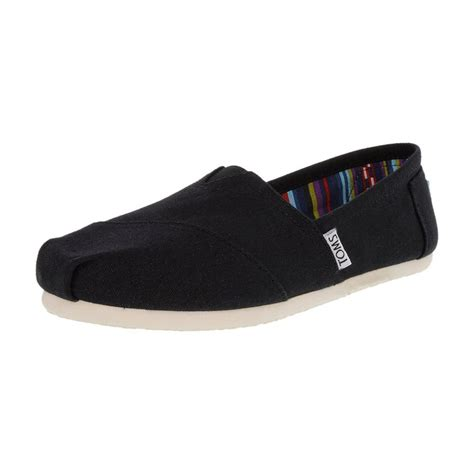 high flat shoes toms classic canvas ankle high canvas flat shoes