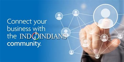 which section of a company promotes the business join in indoindians business section online indoindians