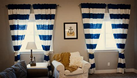Nautical Themed Curtains - nautical curtains