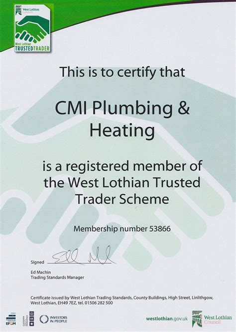 The Plumbing And Heating Company by Cmi Plumbing And Heating Plumber In Edinburgh Uk