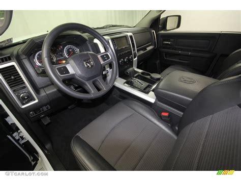 slate gray interior 2011 dodge ram 1500 sport r t