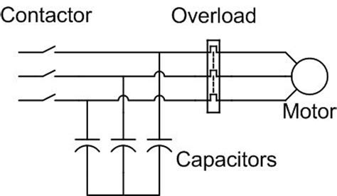 induction motor kvar capacitor မ က distribution board မ တပ ဆင ၿပ starter မ တစ ခ စ မ independently