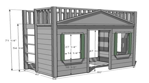 cottage loft bed cottage loft bed plans loft beds for adults