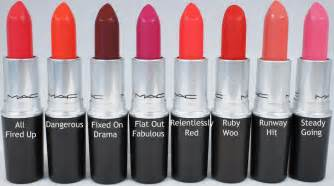 mac lipstick colors and names mac retro matte lipsticks photos swatches and reviews