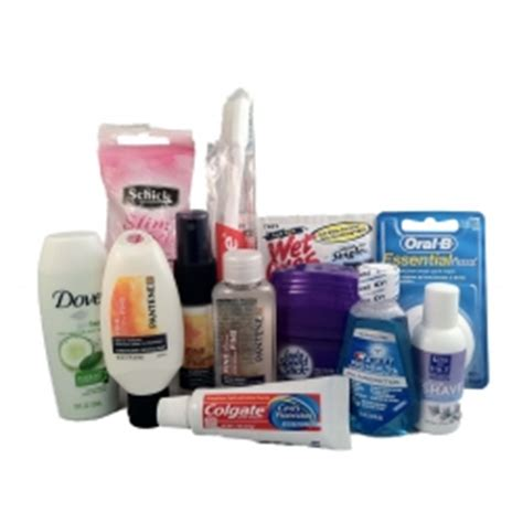 Pitera Wellcome Kit Travel Size collecting toiletry items for and children
