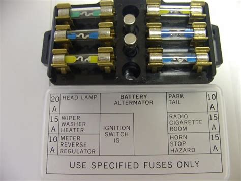 Auto Sekring In Fuses Sikring Fuse 11416mm 20a 20ere Aq76 620 headlights wont work electrical ratsun forums