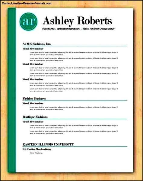 free resume templates that stand out stand out resume templates free sles exles