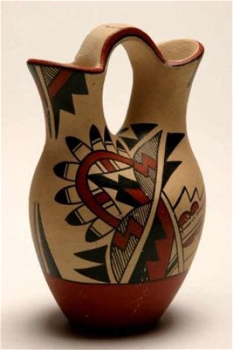 jemez pueblo pottery wedding vase 450258