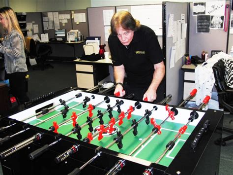 warrior foosball table review eddie money playing warrior foosball