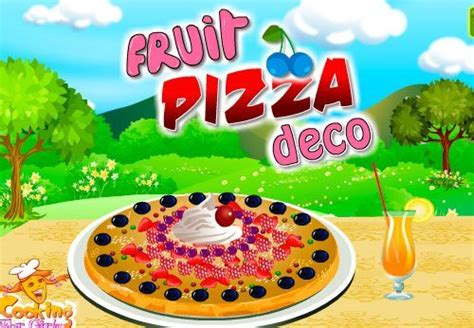 juego para cocinar pizza de frutas juegos juegos de cocina de frutas okales