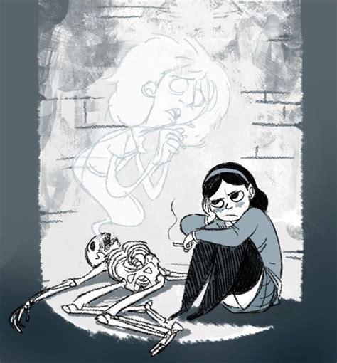 anyas ghost anya s ghost haunted character design vera brosgol