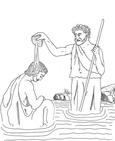 printable coloring pages john the baptist 83 coloring page john the baptist gallery of