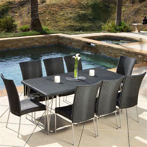 Outdoor Dining Sets Los Angeles Ta 9 Outdoor Dining Set Modern Landscape