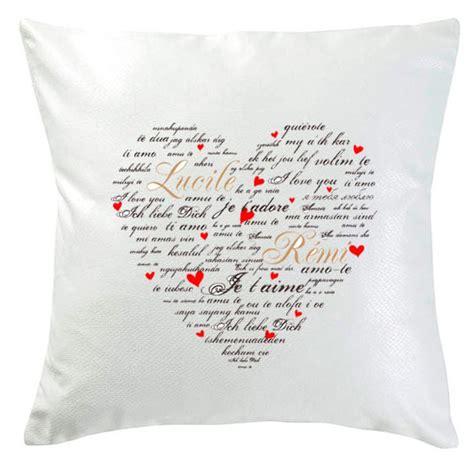cuscini san valentino il cuscino di san valentino idee regalo originale