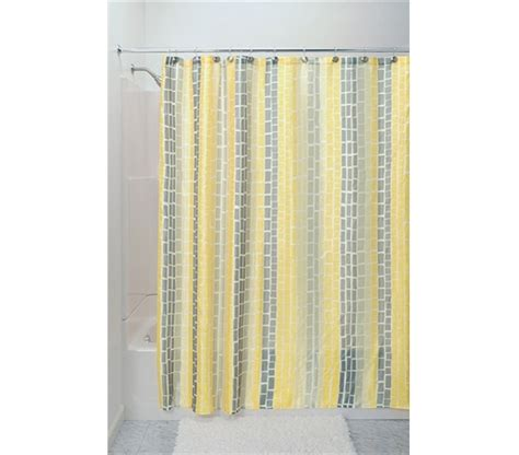 college shower curtains moxi shower curtain yellow college items dorm bathroom