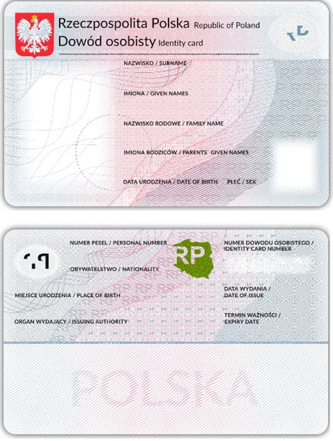 Canadian Auto Id Card Template