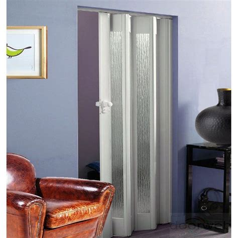 Folding Concertina Doors Interior Buy Dynasty Pvc Concertina Folding Door Accordion White Gloss Glazed