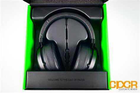 Earphone Razer Kraken Pro V2 razer kraken pro v2 review gaming headset custom pc review
