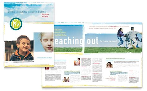 Special Education Brochure Template Word Publisher Free Education Brochure Templates For Word