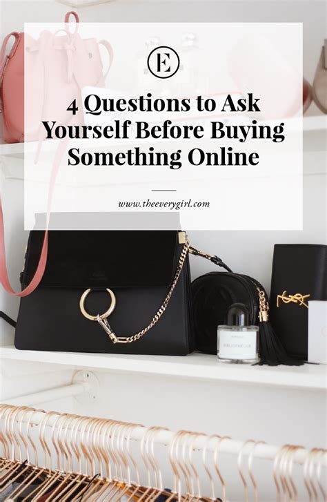 Things To Ask Yourself Before Buying Anything 4 questions to ask yourself before buying something