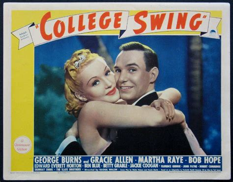 college swing college swing movie poster 1938 musical dance movie