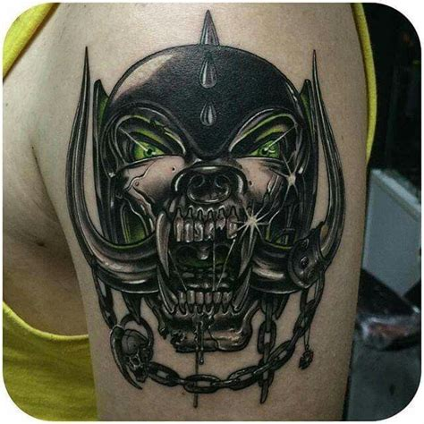 motorhead tattoo motorhead tats tattoos metal