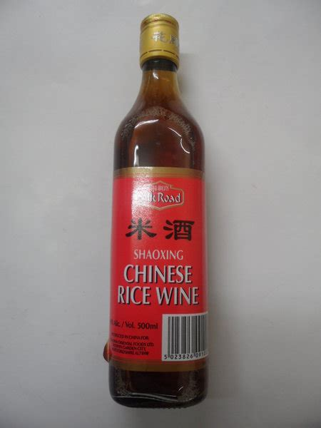 silk road shaoxing rice wine 500ml gosai stores