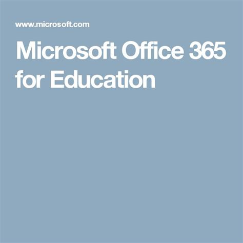 Microsoft Office 365 Education by Best 25 Office 365 For Students Ideas On